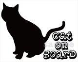 「CAT ON BOARD」ステッカーEタイプ