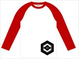 家紋ラグラン ロングスリーブTシャツ Cタイプ
