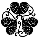 三つ唐草葵