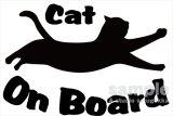 「CAT ON BOARD」ステッカーDタイプ